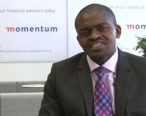 Mr Frank Magwegwe. Middle Market Segment Executive at Momentum Retail.